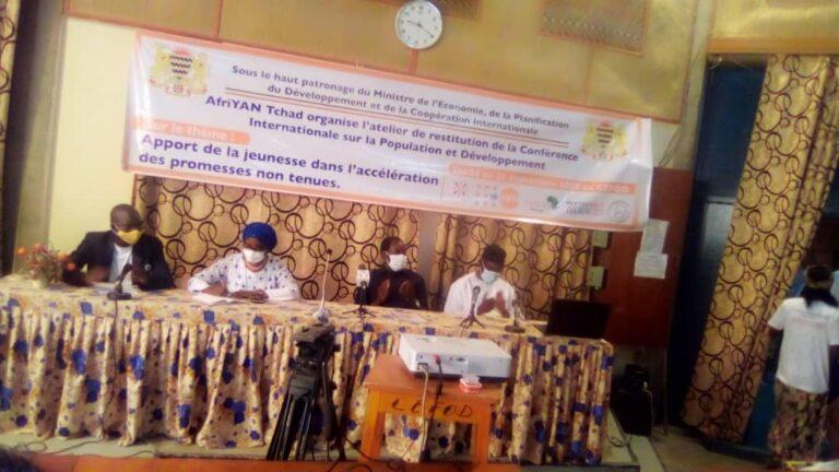 Tchad : Afriyan restitue les conclusions de la Conférence internationale sur la population et le développement