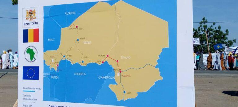 تشاد: الإنطلاقة الرسمية لمشروع الألياف البصرية العابرة للصحراء