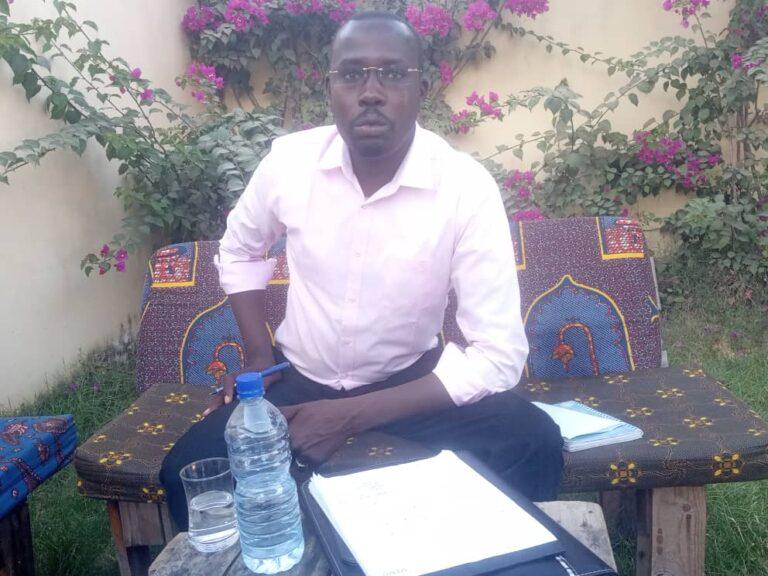 Tchad : Abdoulaye Moursal Abakar, un des candidats à la présidence du CNCJ dévoile son programme