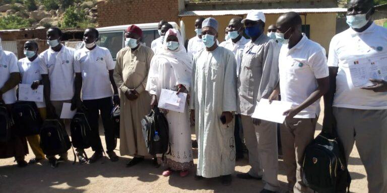 Mongo: formation des auxiliaires d'élevage en santé animale de base