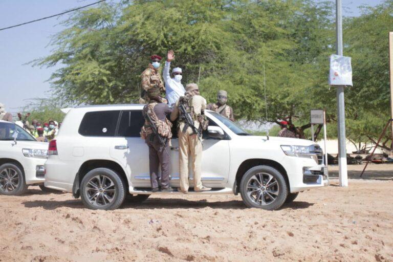 تشاد: رئيس الجمهورية يصل إلى ماو (المدينة البيضاء)