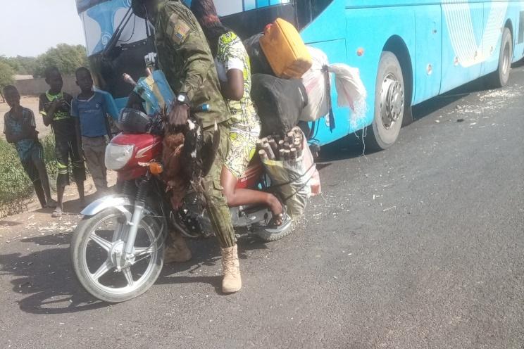 تشاد: تم سحب دراجاتهم بعد كسرهم حاجز المدخل الجنوبي للعاصمة أنجمينا