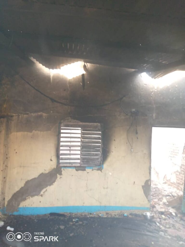 Société: Un incendie ravage une habitation  à Amtoukouin