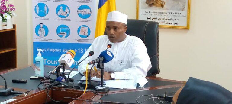 """Covid-19 : """"sur les 44 cas du 3 janvier, 33 sont de la part des voyageurs"""", Abdoulaye Sabre Fadoul"""