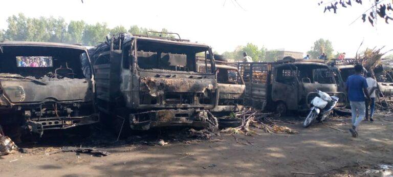 Tchad: Un incendie ravage le marché Taradona