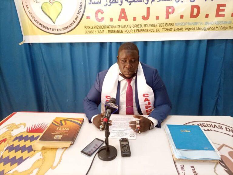 """La grève n'a jamais résolu le problème du Tchad "", Mahamat El-Mahdi"