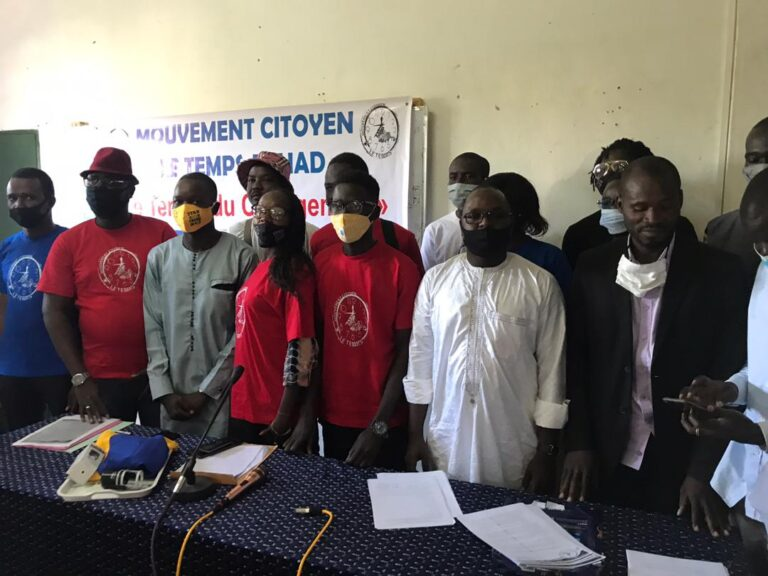 Tchad : le mouvement citoyen le Temps s'oppose à un 6e mandat du président Déby