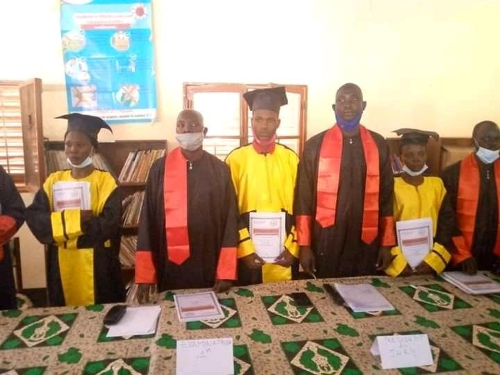 Mongo : soutenance des lauréats de la première promotion de l'école professionnelle des agents sociaux et sanitaires de Mongo