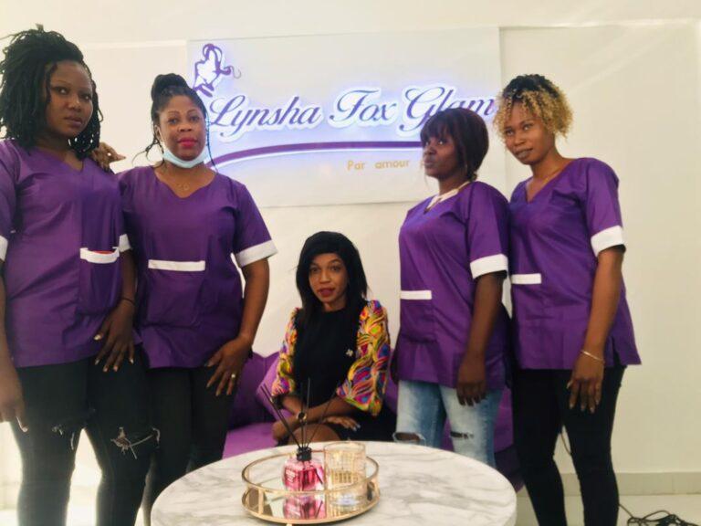 Tchad : Lynsha fox Glam, un institut de beauté à découvrir