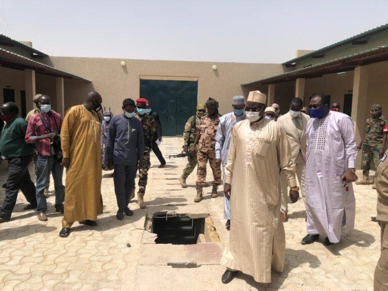 Tchad: le ministre de la Justice en visite à la maison d'arrêt de Klessoum