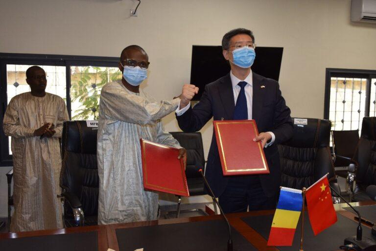 Tchad-Chine: signature d'accord d'annulation d'une dette de 15,88 milliards de FCFA