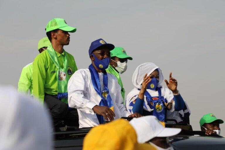 Lancement de la campagne électorale :  Idriss Deby Itno fait de nombreuses promesses