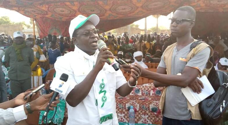 Présidentielle 2021 : Pahimi Padacké Albert courtise les Moundoulais