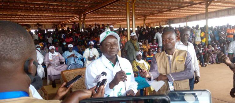 Présidentielle 2021: Pahimi Padacké Albert se pose en défenseur de la jeunesse du Mandoul