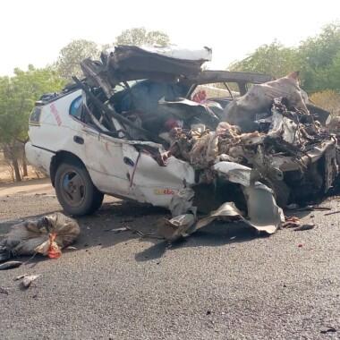 Urgent :  trois morts dans un accident à la sortie Nord de N'Djaména