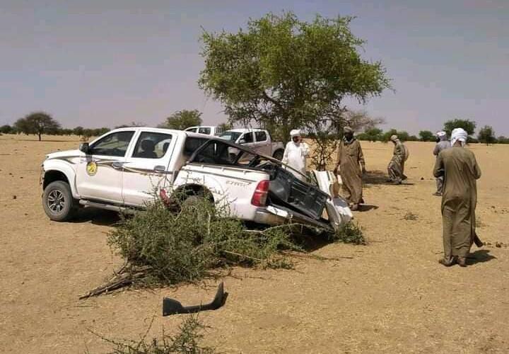 Un véhicule d'une mission du MPS percute un arbre dans le Batha