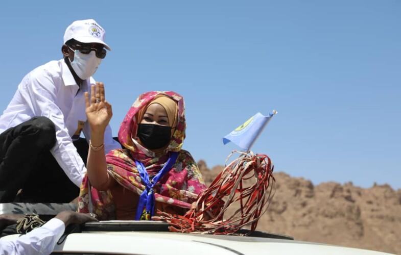 Campagne électorale : Hinda Déby promet la sécurité et la paix aux fils du Tibesti