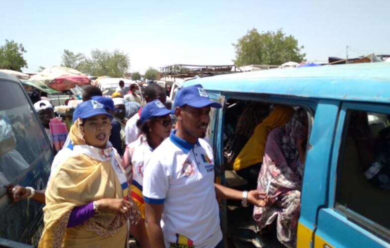 Présidentielle 2021: la plateforme «Le Tchad d'abord» sensibilise les conducteurs sur le retrait des cartes d'électeur