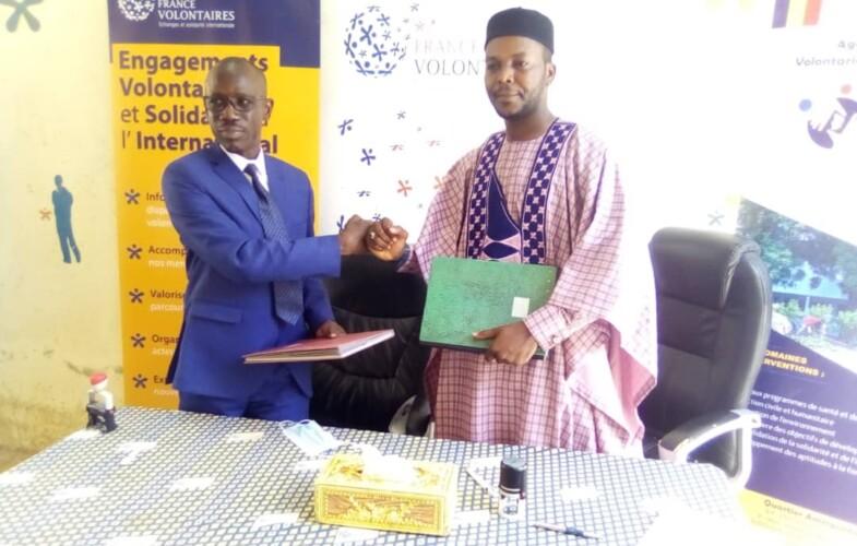 Volontariat: signature de convention entre France Volontaires Tchad et l'ANVOL-T