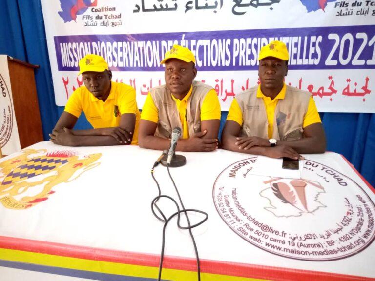 """Présidentielle 2021 : les candidats ont été """" responsables"""" et """"patriotiques"""", selon la Coalition Fils du Tchad"""
