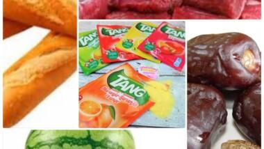 Ramadan : voici quelques aliments très prisés pendant ce mois de jeûne