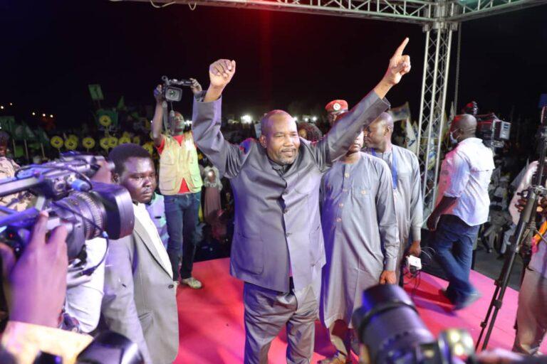 Présidentielle 2021: Au QG du MPS à la place de la nation, c'est la joie