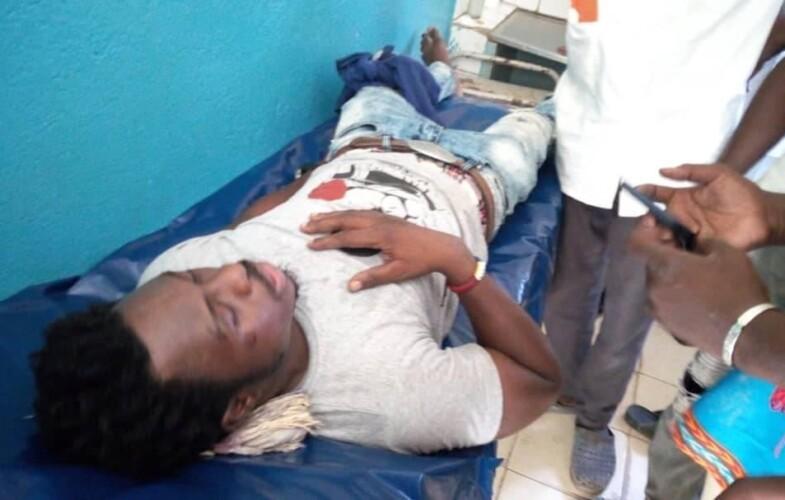 Tchad : l'artiste Ray's Kim touché par une balle réelle lors des manifestations