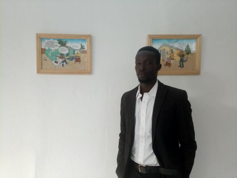 Tchad: le dessinateur Nasta ou l'élève qui a dépassé le maître
