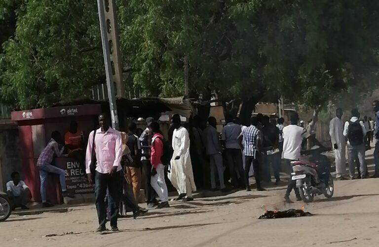 Tchad : les étudiants de l'université de N'Djamena boudent le nouveau  frais d'inscription