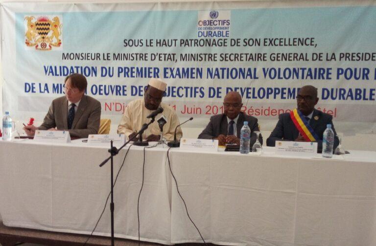 Le Tchad valide son premier examen national volontaire sur la mise en œuvre des ODD