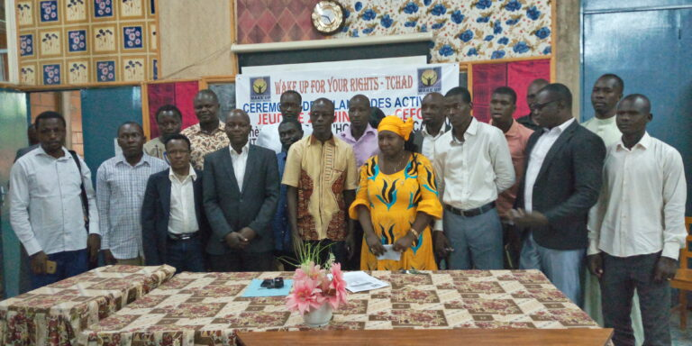 Tchad:  Wake up for your rights relance ses activités