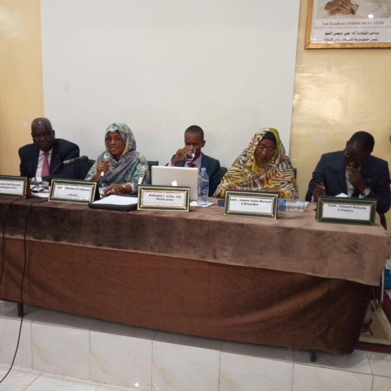 Tchad : des diplomates partagent leurs expériences avec les Enarques