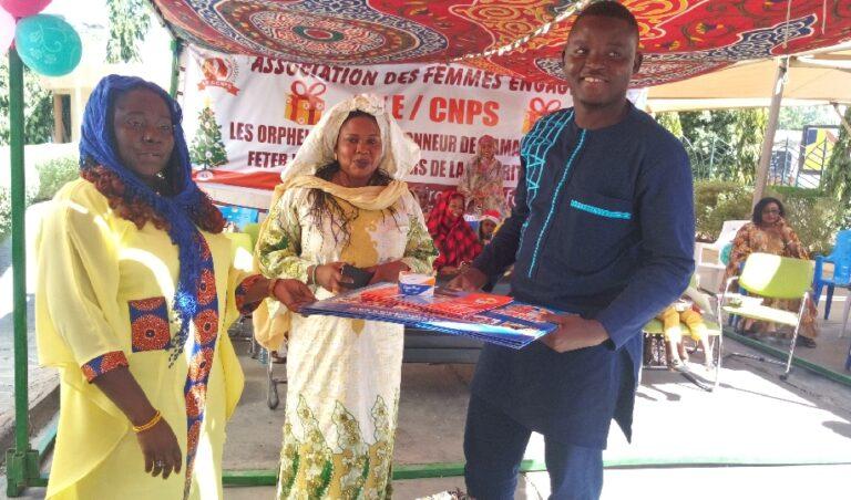 Tchad : les femmes de la CNPS aident des orphelins à préparer la Noël