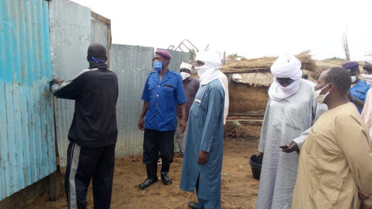 Tchad : le marché à bétail de Diguel doté des toilettes publiques