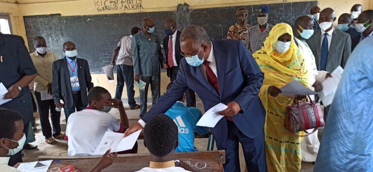 Tchad : 103 337 élèves composent le BEF