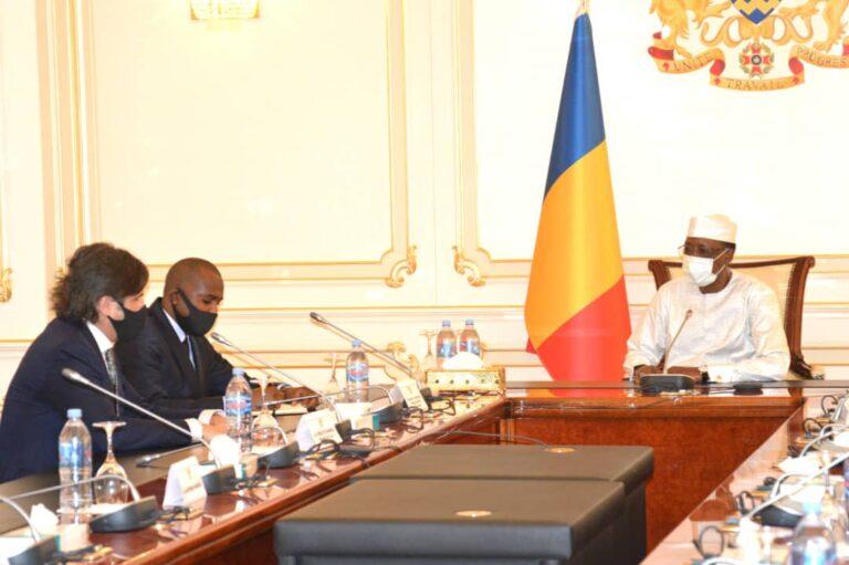 Tchad : le président Déby échange avec une délégation du groupe Alcaal