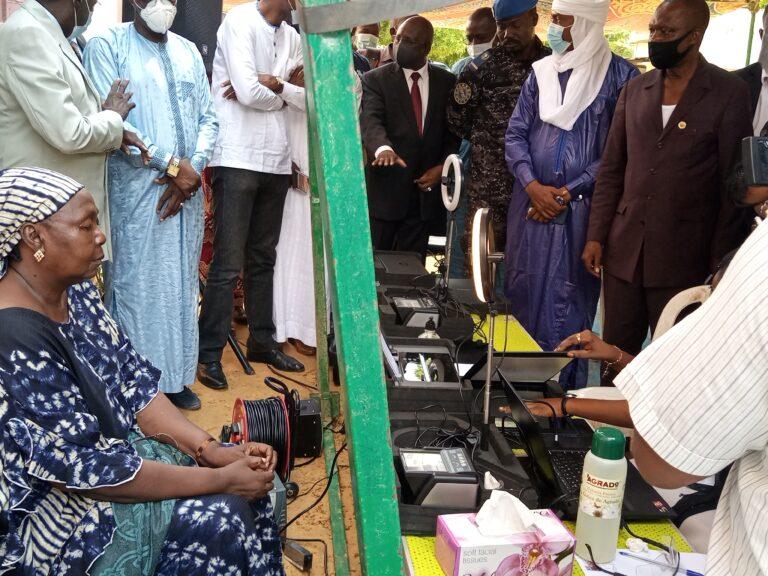 Tchad : lancement de la phase pilote de l'opération de révision du fichier électoral