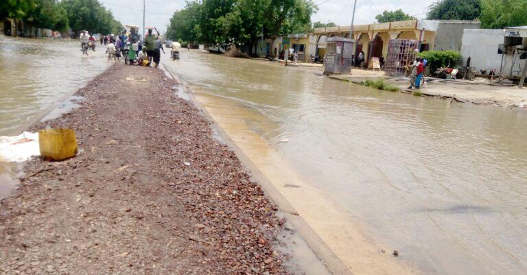 Tchad : le 7e arrondissement de N'Djaména sous les eaux