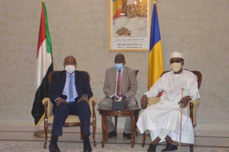 Tchad : le président Déby a reçu en audience son homologue soudanais