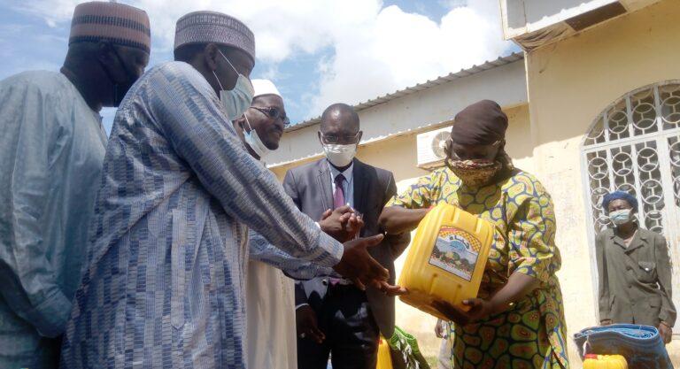 Tchad : des kits alimentaires pour les sinistrés du 9ème  arrondissement