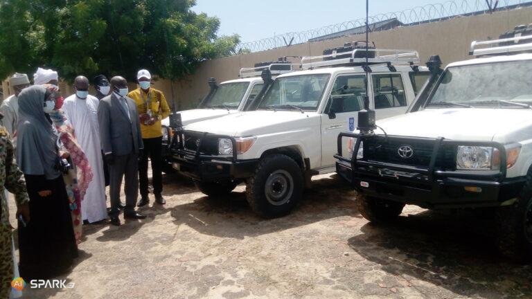 Tchad : 6 véhicules offerts aux autorités tchadiennes