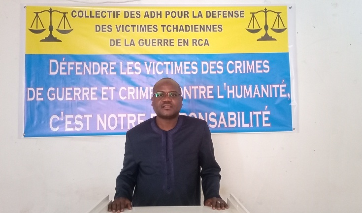 """Crime en RCA : """"nous détenons des informations importantes sur la procédure de la CPI à soumettre aux victimes"""", Mht Digadimbaye"""