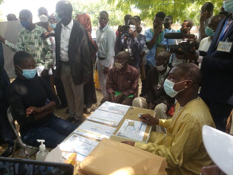 Tchad : Voici comment se déroule l'enrôlement pour la révision du fichier électoral
