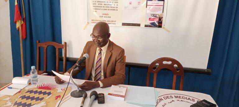 Tchad : lancement de la version digitale du Code général des impôts