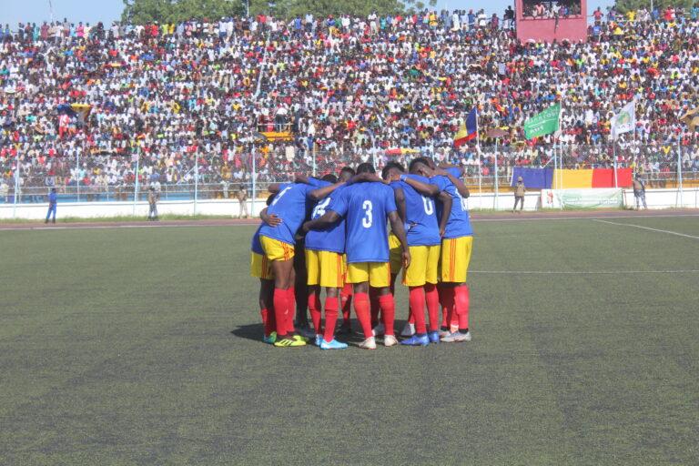 Football: les Sao menés par les Soudanais à la mi-temps par un but à zéro