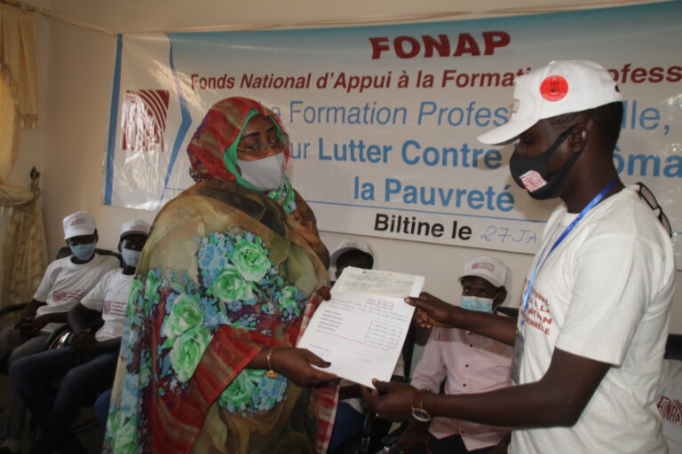 Le FONAP octroie plus de 30 millions F CFA à 9 groupements et organisations professionnelles du Wadi Fira