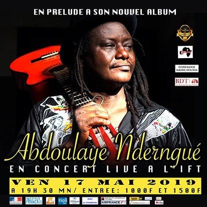 Culture : Abdoulaye Nderngué de retour sur la scène de l'IFT