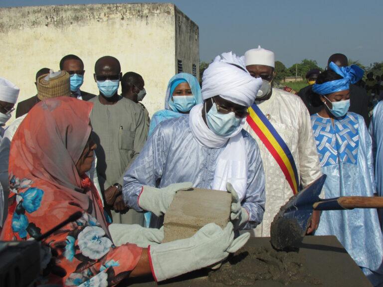 Tchad : l'Adetic lance les travaux de construction d'un centre multimédia à Sarh