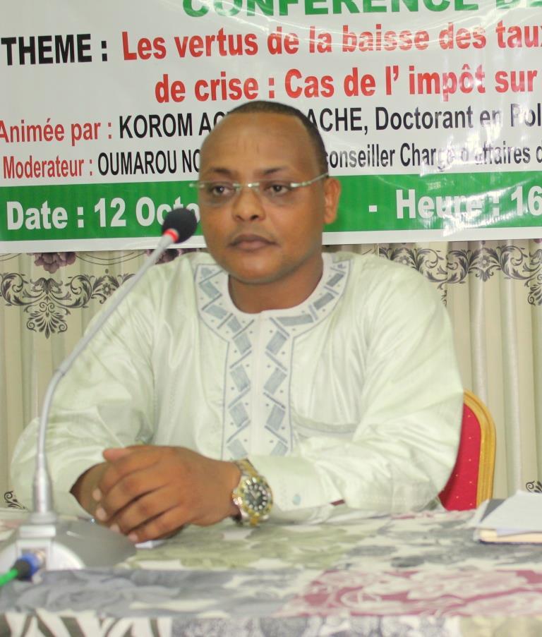 Tchad: « le fisc tchadien est à l'abri des pressions », selon Korom Acyl Dagache