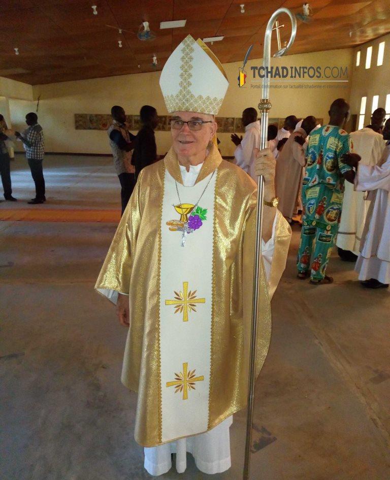 Religion: le diocèse de Sarh accueille son nouvel évêque Mgr Miguel Angel Sébastien Martinez